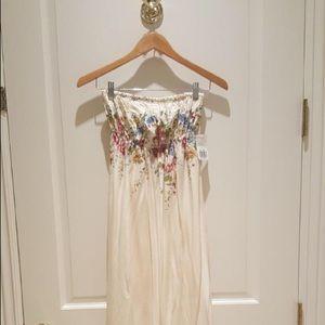 Forever 21 Boho Floral Maxi Dress
